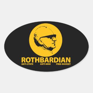 Pegatina de Rothbardian