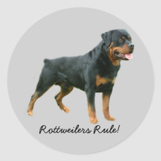 Pegatina de Rottweiler