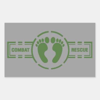 Pegatina de Roundel del rescate del combate