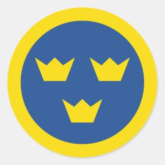 Pegatina de Roundel del sueco