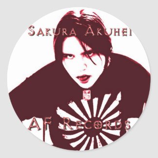 Pegatina de Sakura Akuhei
