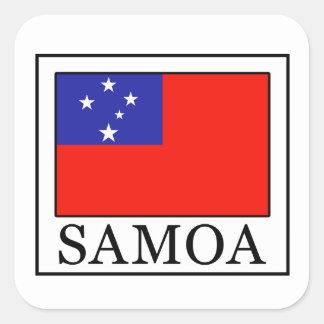 Pegatina de Samoa