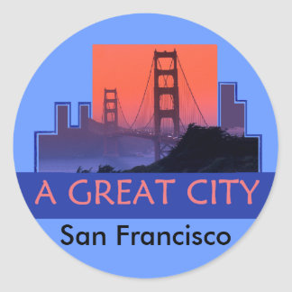Pegatina de SAN FRANCISCO