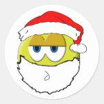 Pegatina de Santa