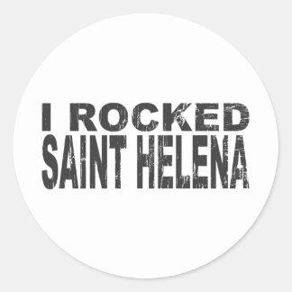 Pegatina de Santa Helena