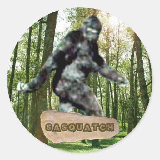 Pegatina de Sasquatch