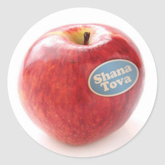 Pegatina de Shana Tova Apple