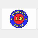 Pegatina de Shangai China