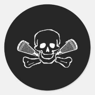 Pegatina de SkullTrans de los diseños de LaCrosse