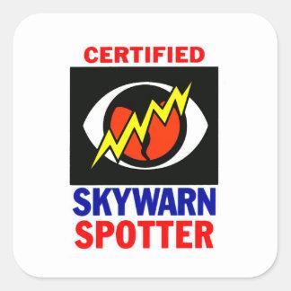 Pegatina de Skywarn