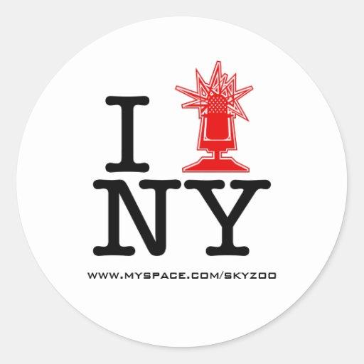 Pegatina de Skyzoo-NY