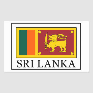 Pegatina de Sri Lanka