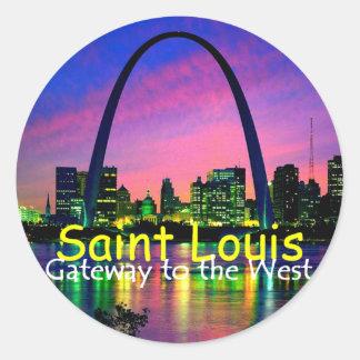 Pegatina de St. Louis