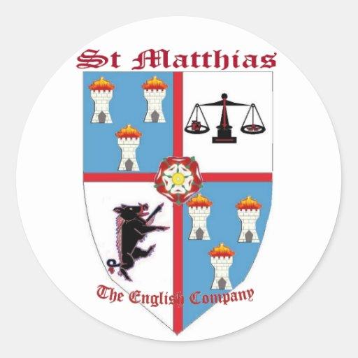 Pegatina de StMathias