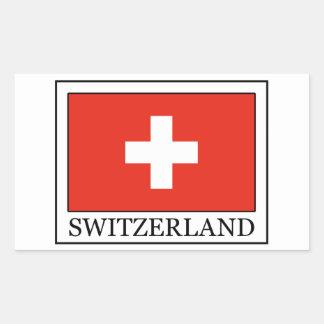 Pegatina de Suiza