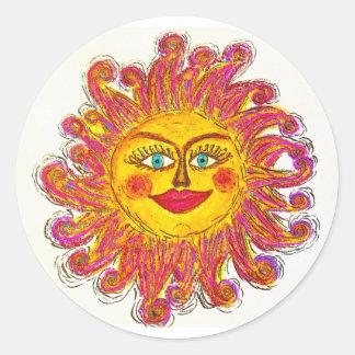 Pegatina de Sun
