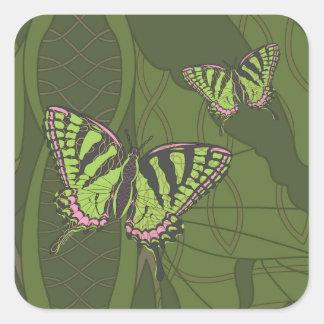 Pegatina de Swallowtail del Celtic