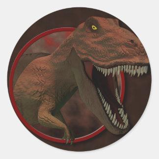 Pegatina de T Rex