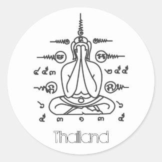 Pegatina de TAILANDIA Buda
