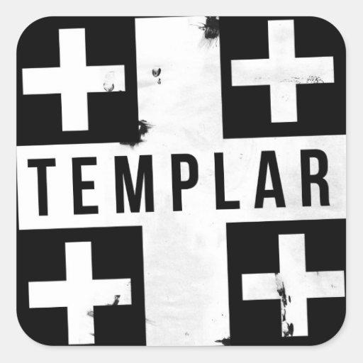 Pegatina de Templar