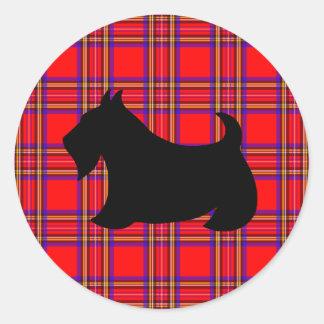 Pegatina de Terrier del escocés