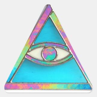 """Pegatina """"de todo el ojo que ve"""""""