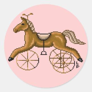 Pegatina de Trike del caballo de Lura