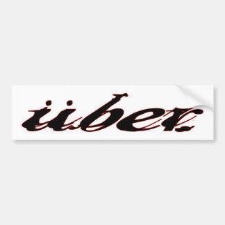 Pegatina de UberBumper Pegatina Para Auto