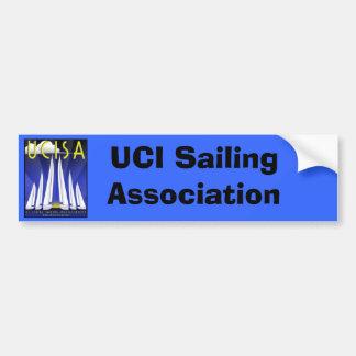 Pegatina de UCISA Bunper, asociación de la navegac Pegatina Para Auto