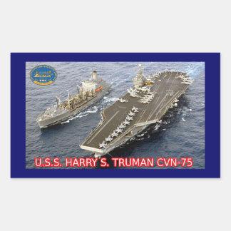 Pegatina de USS Harry S. Truman CVN-75