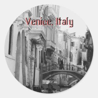 Pegatina de Venecia, Italia