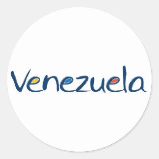 Pegatina de Venezuela