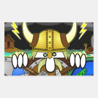 Pegatina de Viking Kilroy
