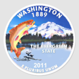 Pegatina de Washington
