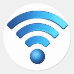 Pegatina de Wifi