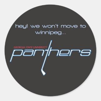 Pegatina de Winnipeg, 3 pulgadas