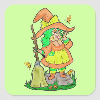Pegatina de Witchie Poo