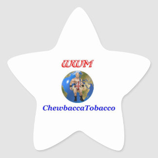 Pegatina de WWM Chewey