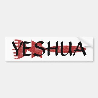 Pegatina de Yeshua Pegatina Para Auto