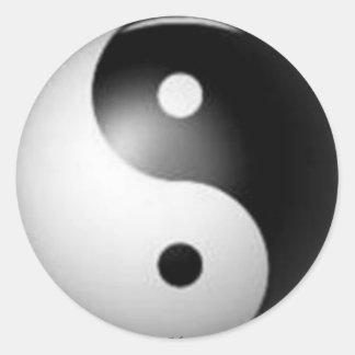 Pegatina de Yin y de Yang