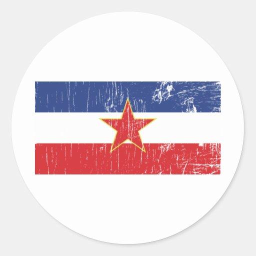 Pegatina de Yugoslavia