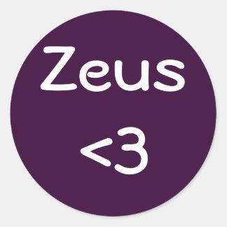 Pegatina de Zeus <3