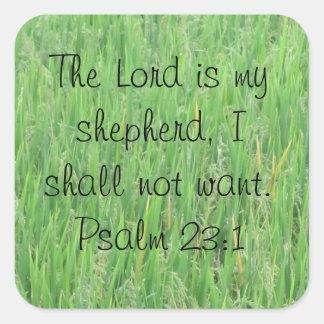 Pegatina del 23:1 del salmo