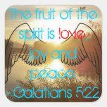 Pegatina del 5:22 de Galatians