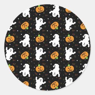 Pegatina del abucheo de Halloween