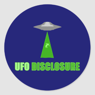 Pegatina del acceso del UFO