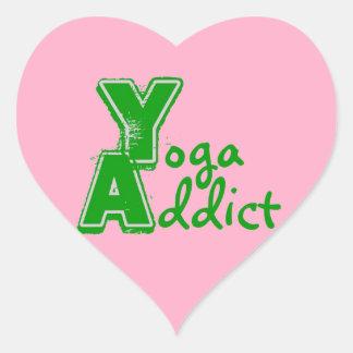 Pegatina del adicto a la yoga - regalos divertidos