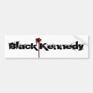pegatina del agujero de bala, Kennedy negro Pegatina Para Auto