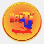 Pegatina del AMOR de HAITÍ