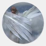 Pegatina del ángel de guarda